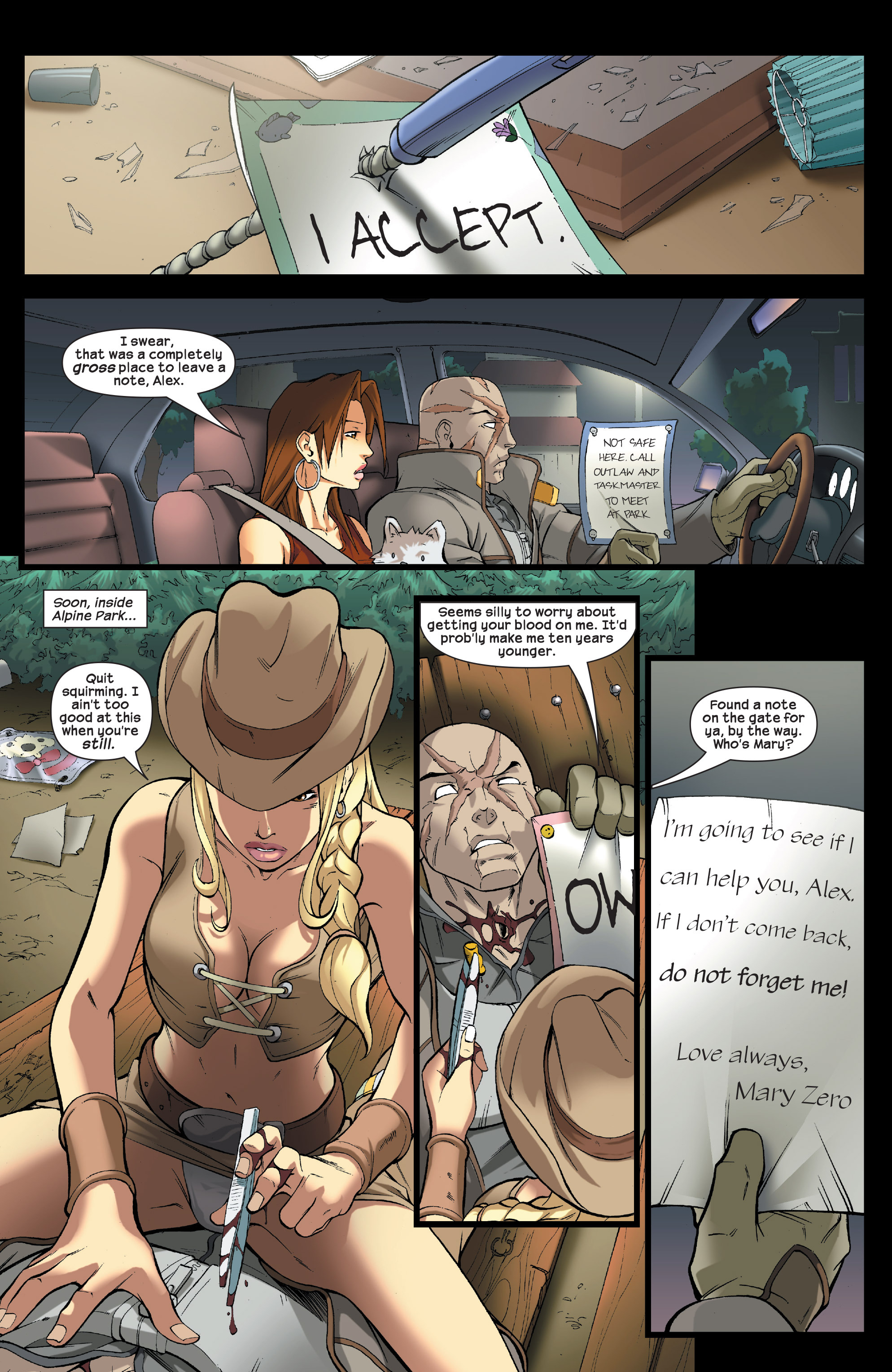 Read online Agent X comic -  Issue #5 - 20