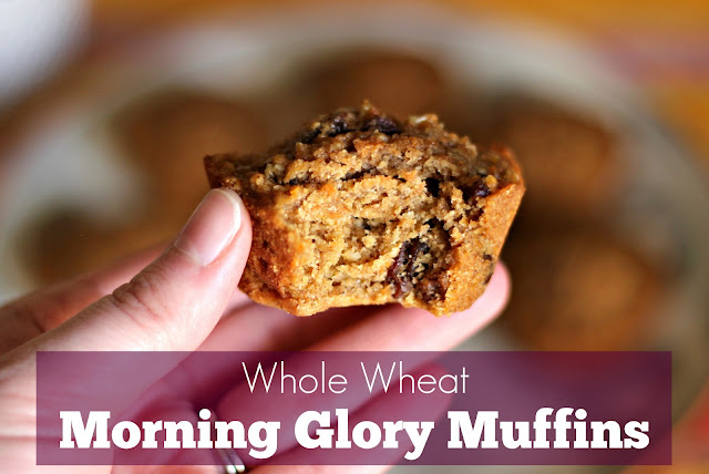 Life of Meg: Whole Wheat Morning Glory Muffins