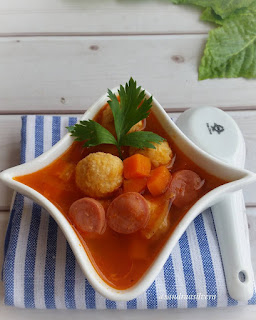 Ide Resep Masak Sup Tomat Bola Ayam