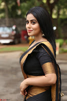 Poorna in Cute Backless Choli Saree Stunning Beauty at Avantika Movie platinum Disc Function ~  Exclusive 060.JPG