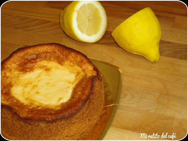 Tarta de limón y galleta