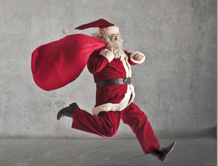 Será que o Papai Noel será mais gordo?