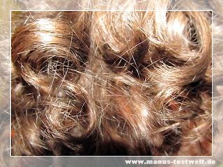 Volle Haarpracht