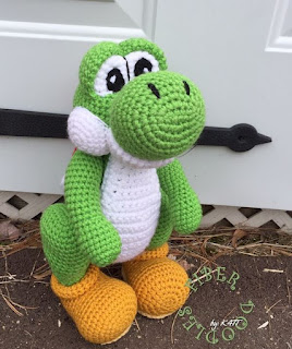 Amigurumi dinosaur crochet pattern - Amigurumi Today | 320x268
