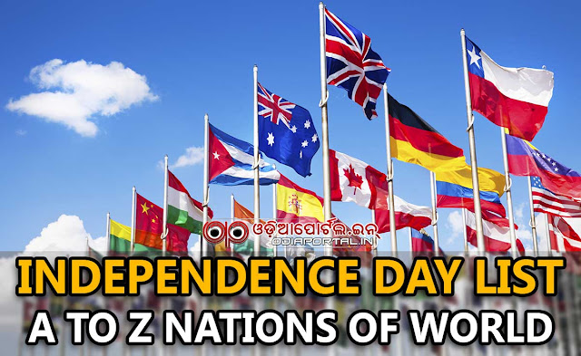 "List of A to Z countries with their Independence Date around the world. The list is very much helpful for various exam preparations. A to Z All Countries ""Independence Day"" List With Year of Independence pdf download."