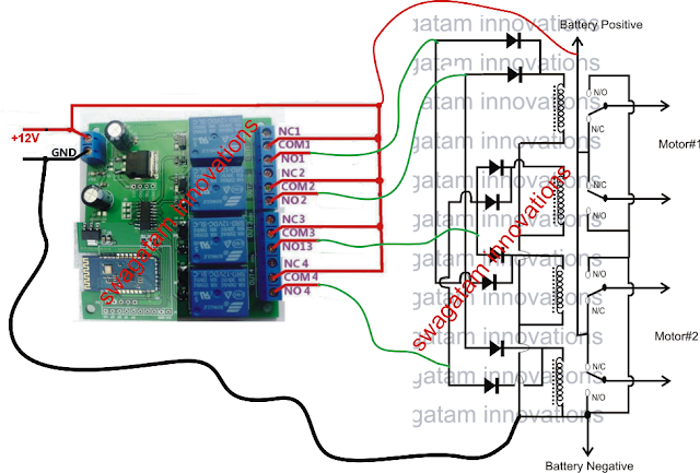 Make A Remote Controlled Toy Car Circuit