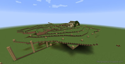 minecraft hobbiton build