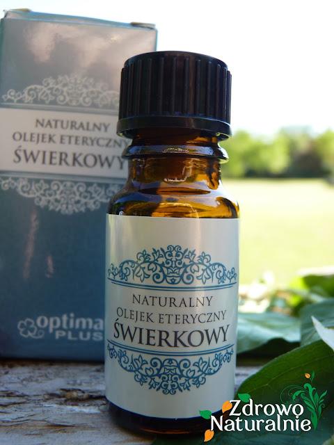 OPTIMA PLUS - Naturalny olejek eteryczny świerkowy