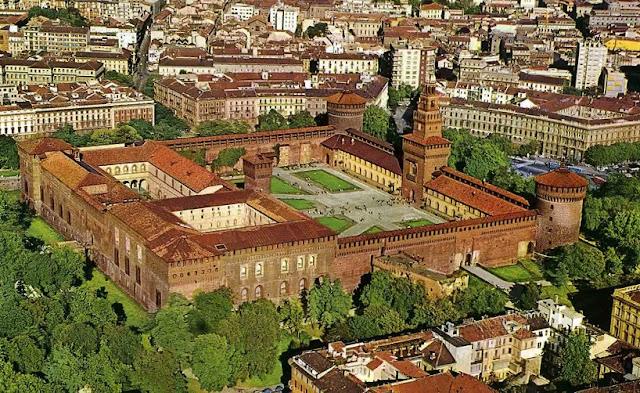 O que fazer no Castelo Sforzesco em Milão