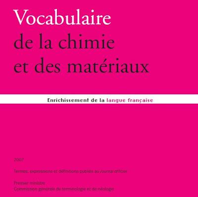 Télécharger Livre Gratuit Vocabulaire Chimie et matériaux pdf
