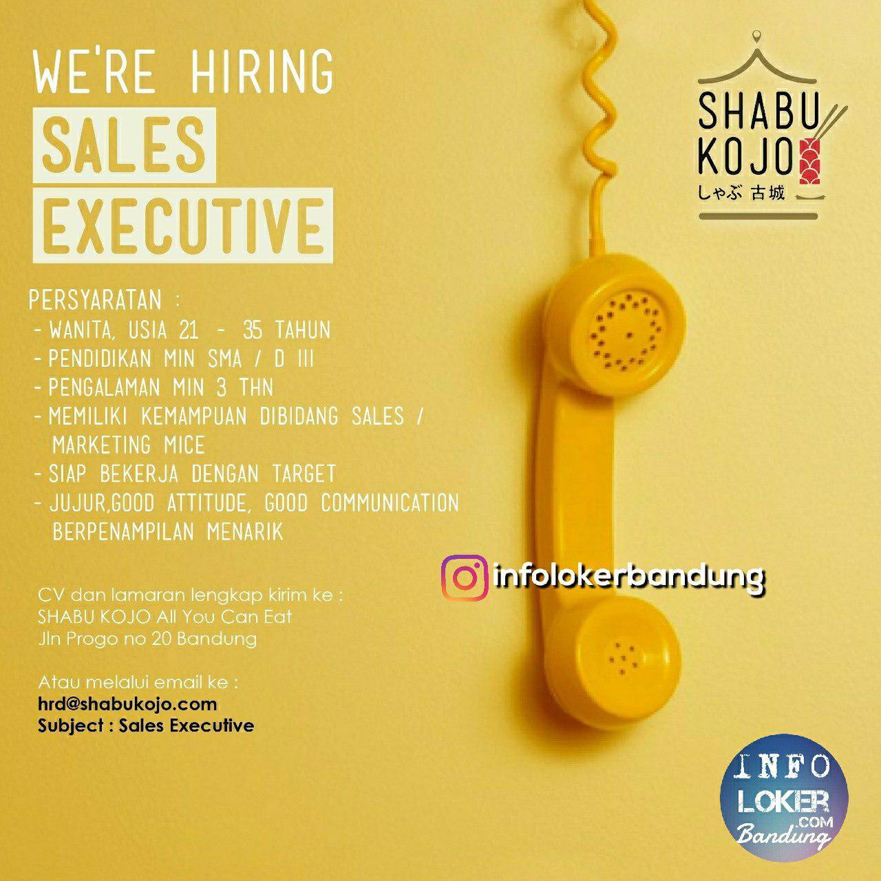 Lowongan Kerja Shabu Kojo Bandung Agustus 2018