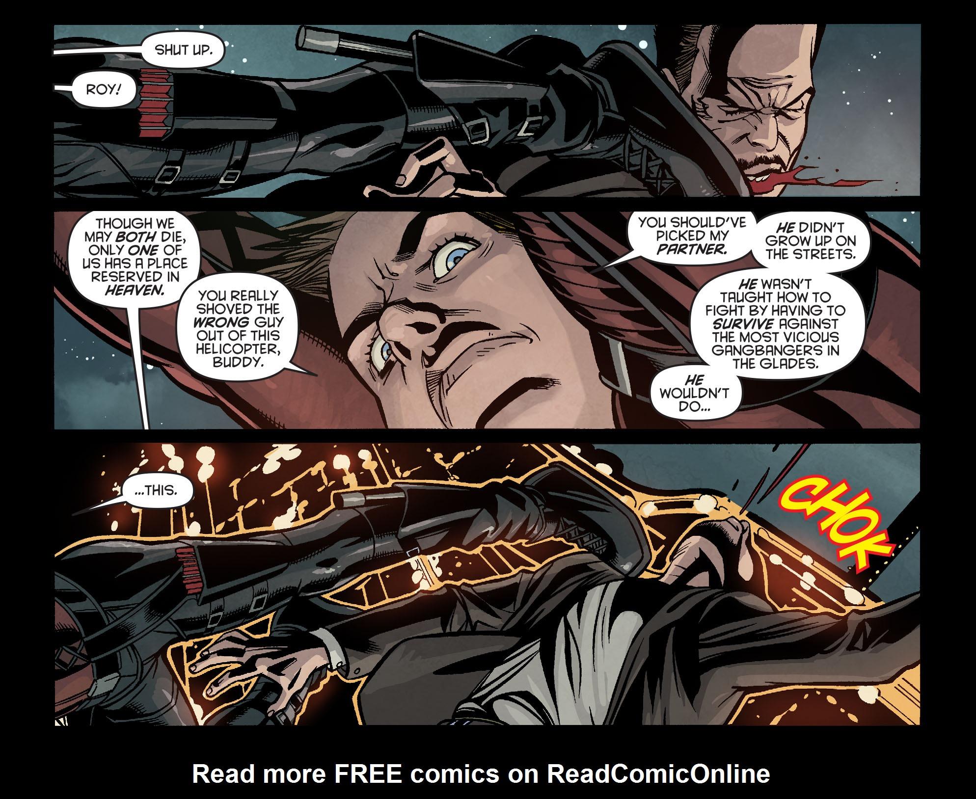 Read online Arrow: Season 2.5 [I] comic -  Issue #16 - 15
