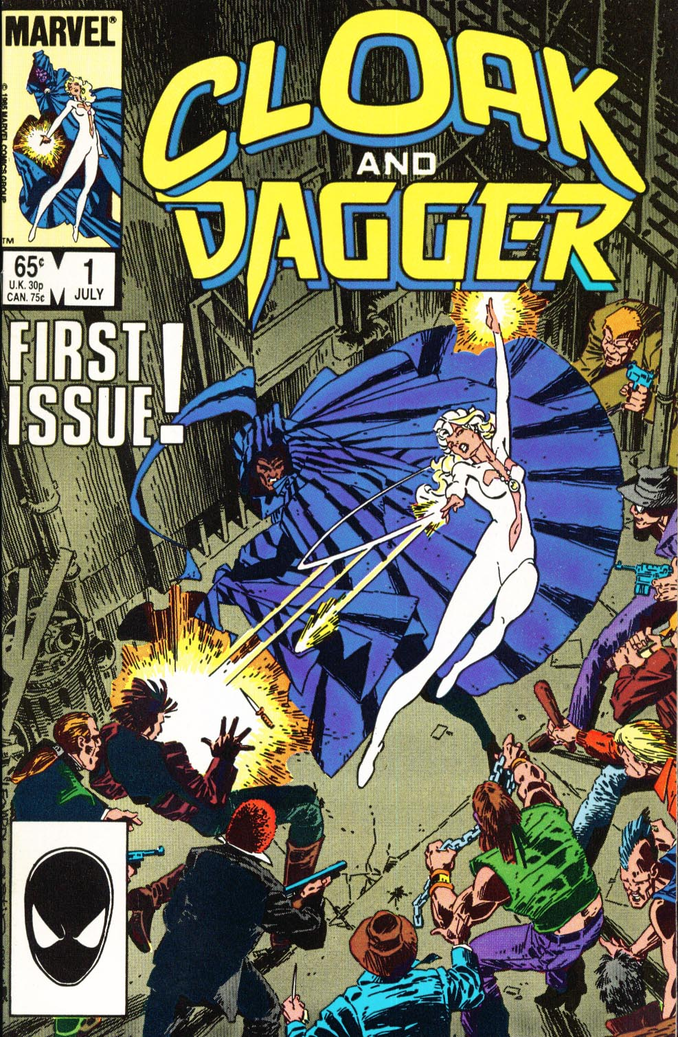 Cloak and Dagger (1985) 1 Page 1