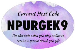 Shop online with me & I'll send you a gift when you use this Host code NPURG3K9