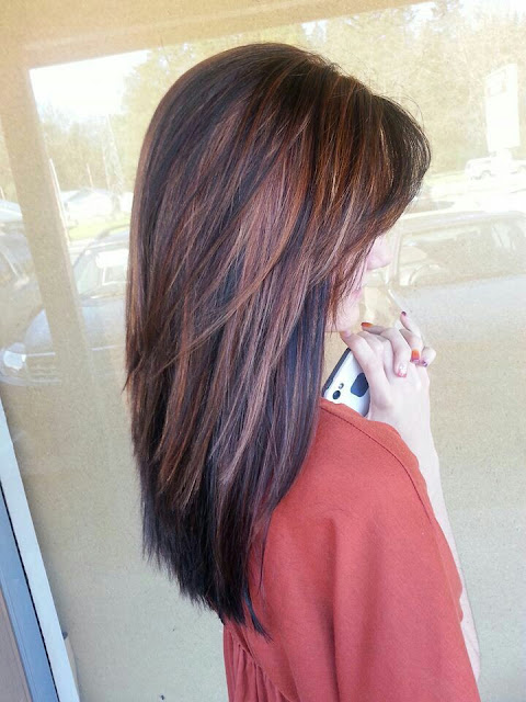 Chocolate truffle hair colour