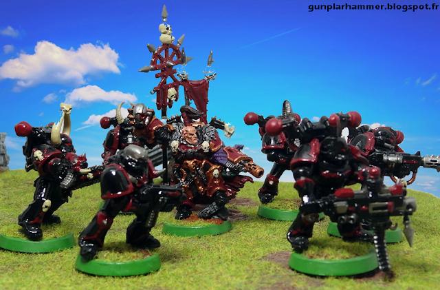 Warhammer 40k, Seigneur du Chaos, Chaos lord