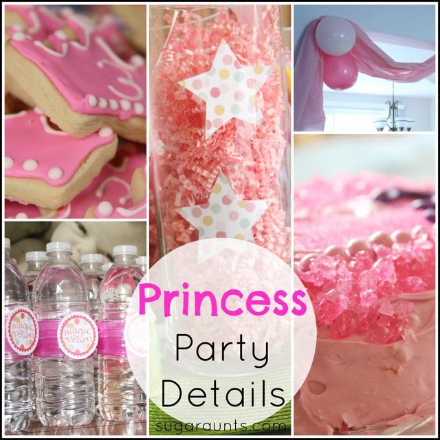 Pretty Pink Princess Party Ideas