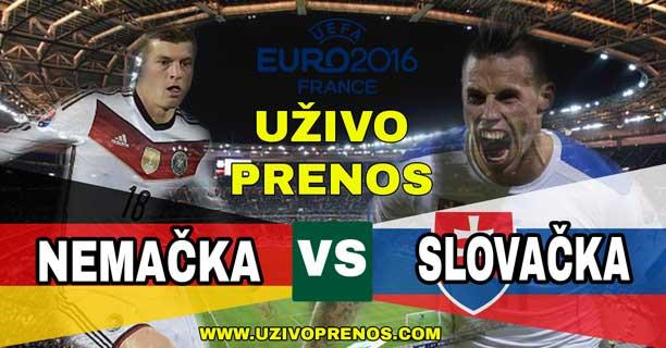 Euro2016 Nemačka Slovačka Livestream Preko Interneta