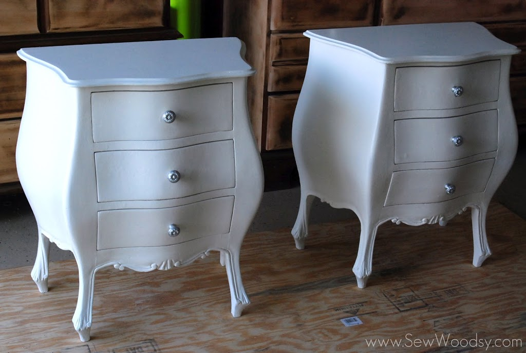 Demo Cheap Antique Nightstand Revamp