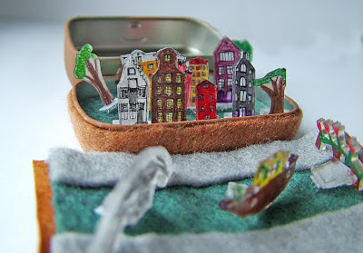 Small World Land Little Amsterdam In A Suitcase