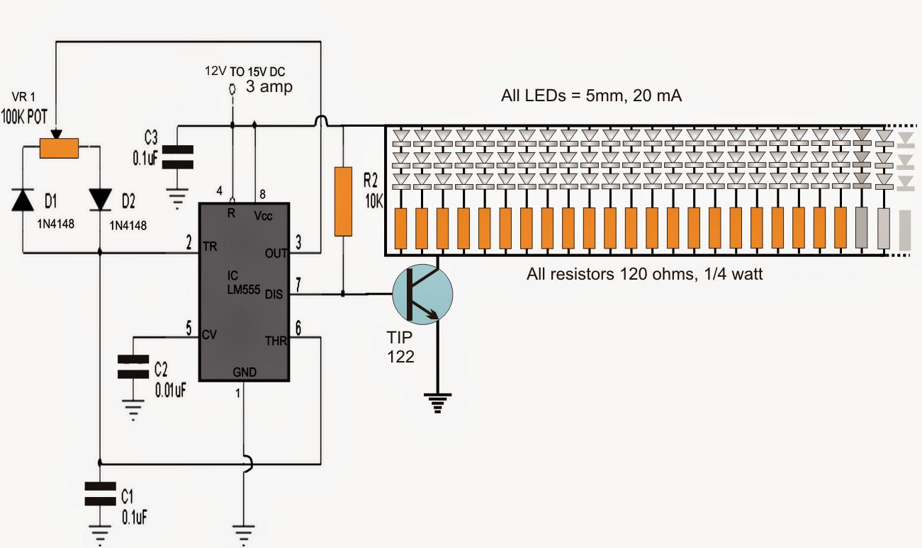 Control Led Brightness Using Pwm Auto Electrical Wiring Diagram Pic16f628 4 Rgb Controller Semifluidcom 150 Tubelight Circuit