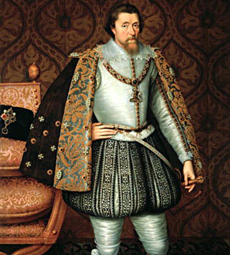 James I of England and Macbeth