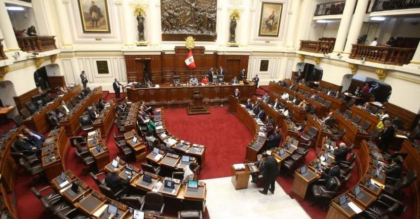 Congreso de la República aprobó Presupuesto Público para el 2019