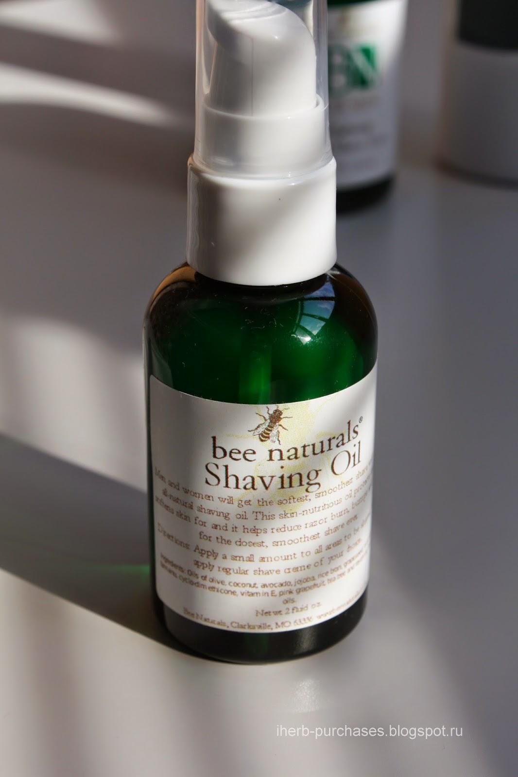 Bee Naturals, Shaving Oil, 2 fl oz