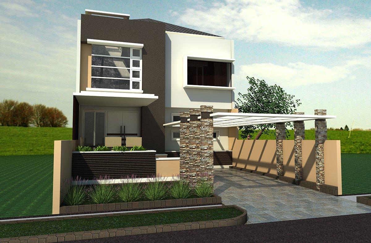 Proses Desain Villa Rotunda Distabio