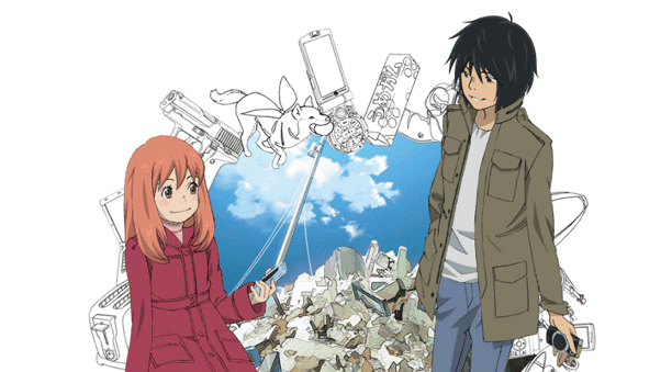 Anime Drama Romance Terbaik - Higashi no Eden