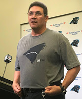 Carolina Panthers head coach Ron Rivera will give the command to start engines on Sunday.
