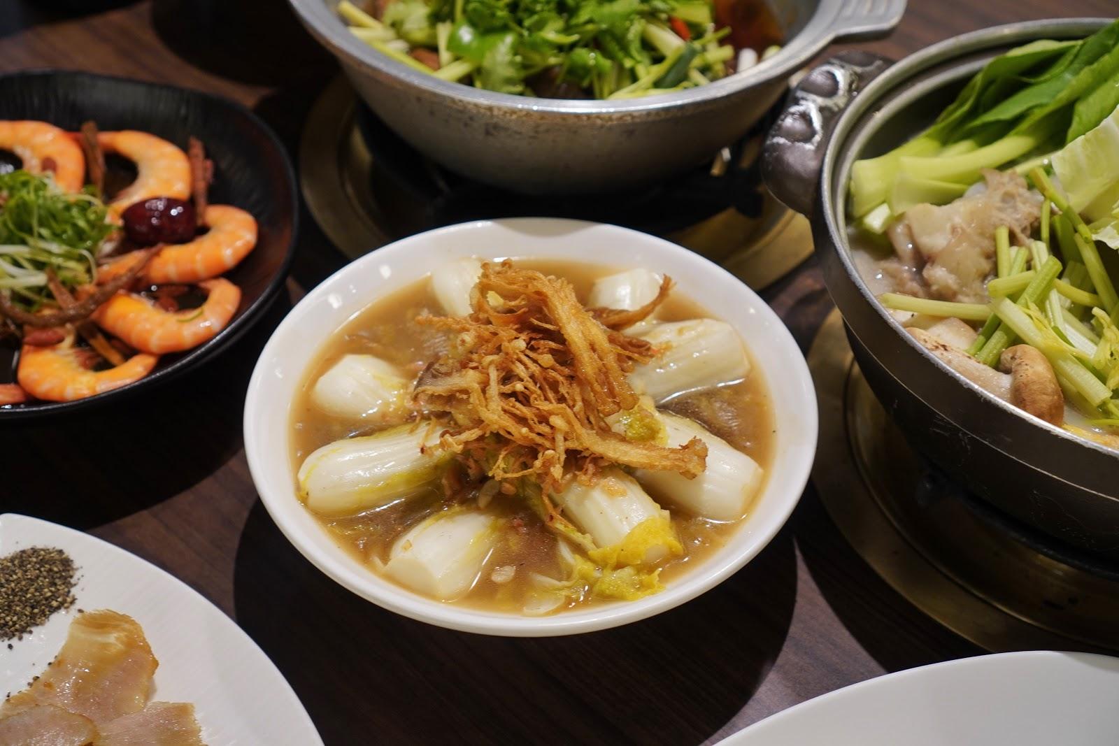 台南東區美食【廚房有雞花雕雞】野蕈菇上湯娃娃菜