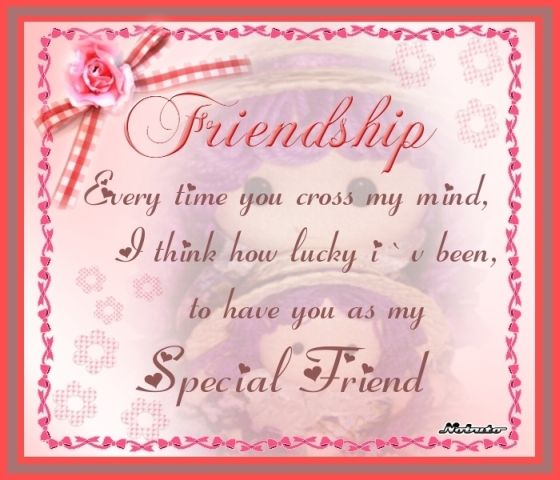 Special Friend Quote: KnowCrazy.com: Friendship Quotes 2