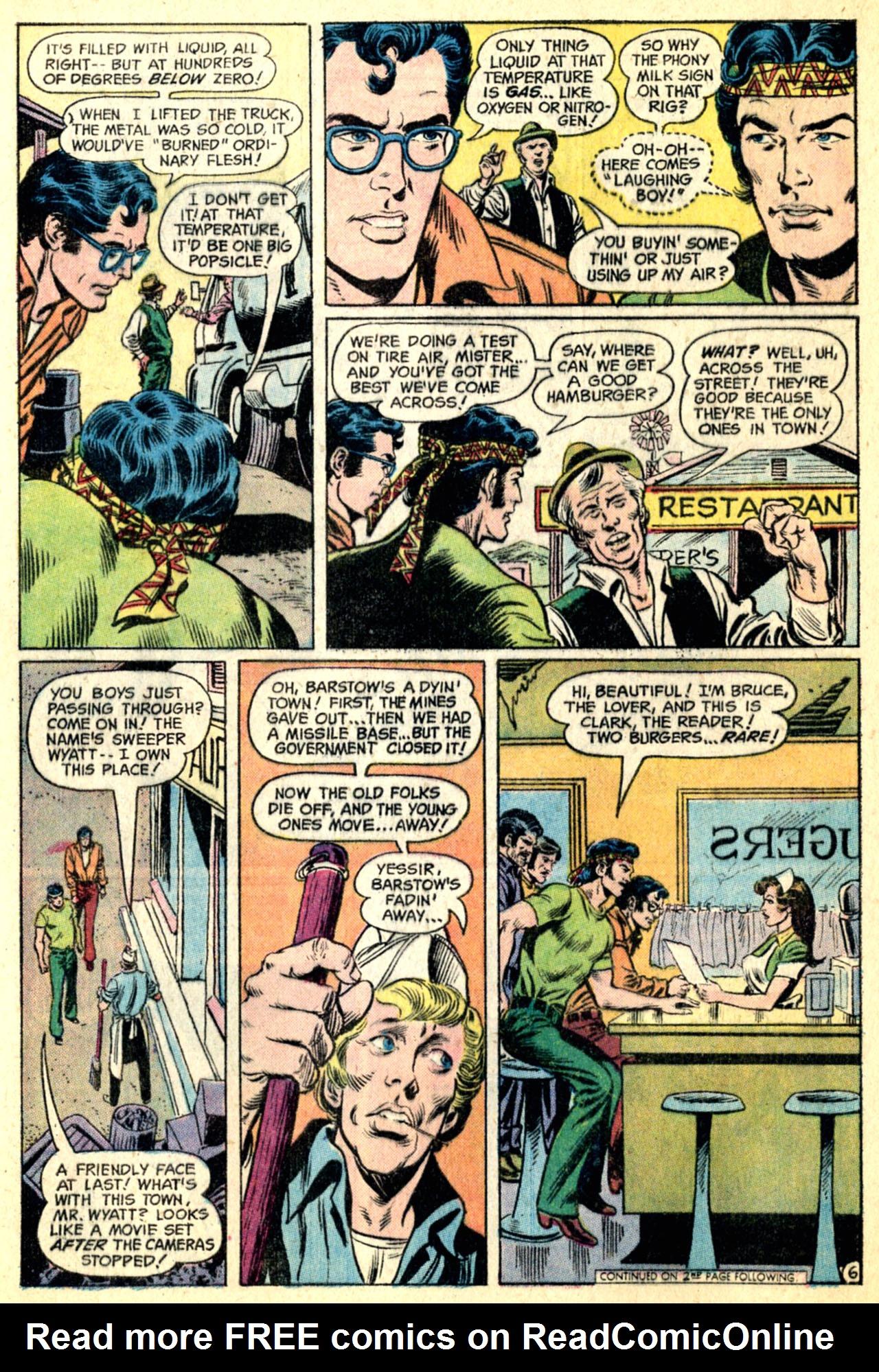 Read online World's Finest Comics comic -  Issue #216 - 8