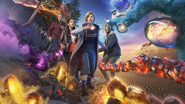 Doctor Who - The Doctor, Jodie Whittaker, and Companions