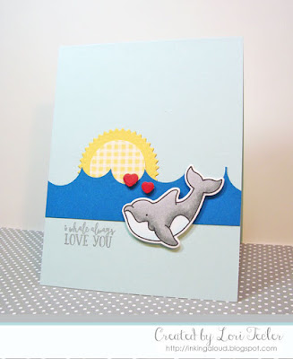 I Whale Always Love You card-designed by Lori Tecler/Inking Aloud-stamps from Avery Elle