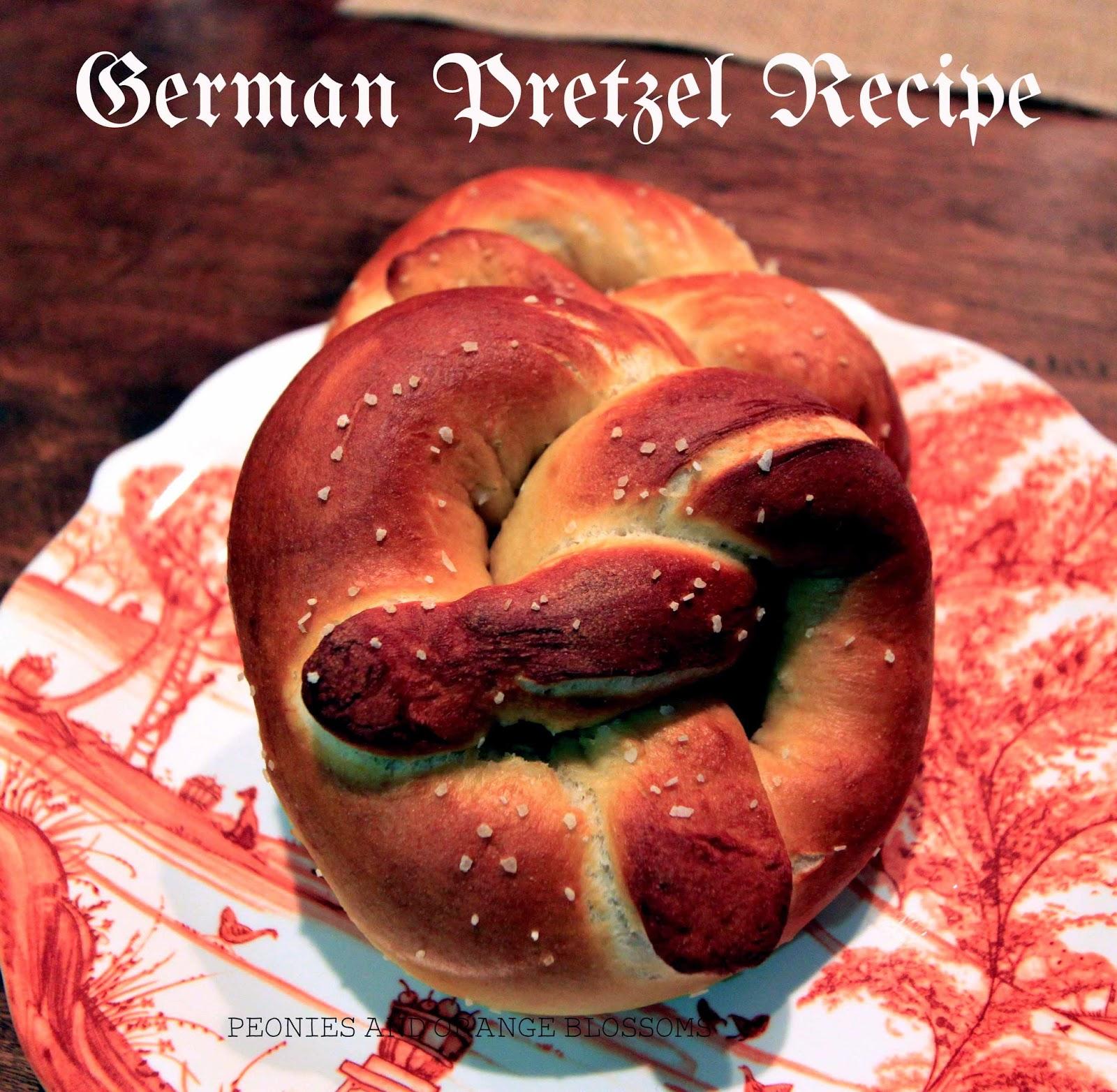 Authentic German Pretzel Recipe