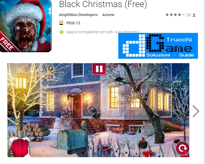 Soluzioni Black Christmas livello 1-2-3-4-5 | Trucchi e Walkthrough level