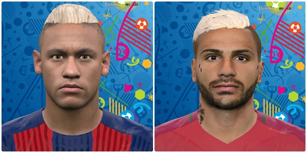 PES 2016 Neymar Jr. and Ricardo Quaresma by Vusal03