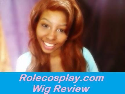 Disney Roxanne Max Goofy Movie cosplay Rolecosplay rolecosplay.com l-email wig review