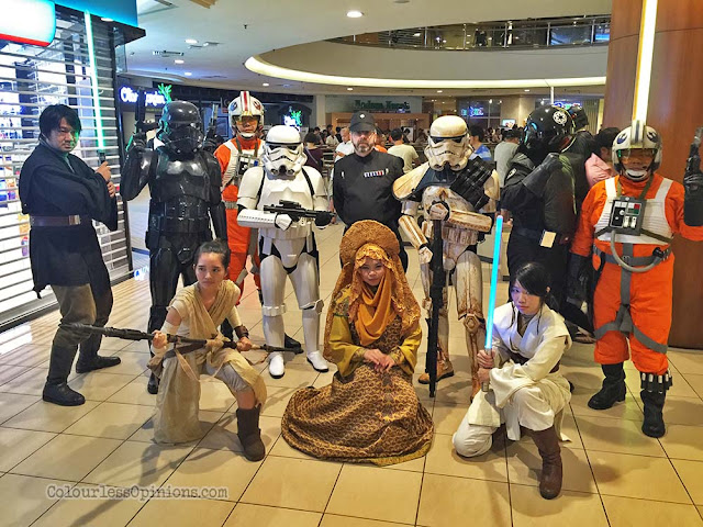 star wars cosplayers malaysia go rogue
