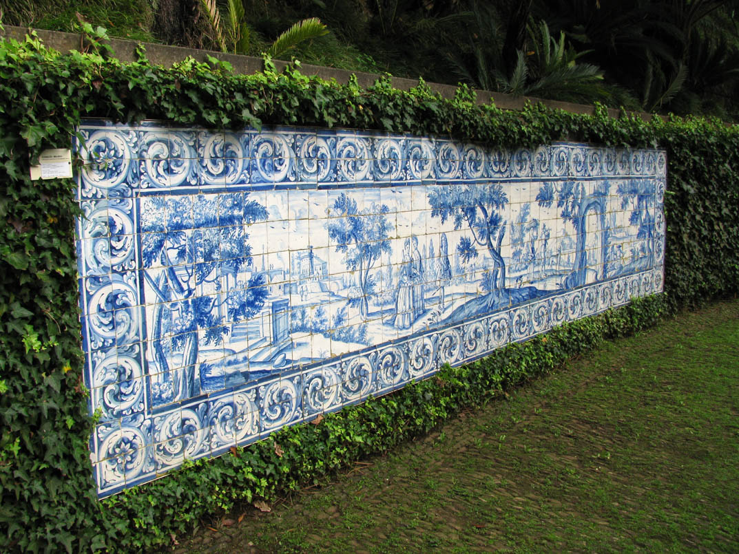 tile panel in Monte Palace