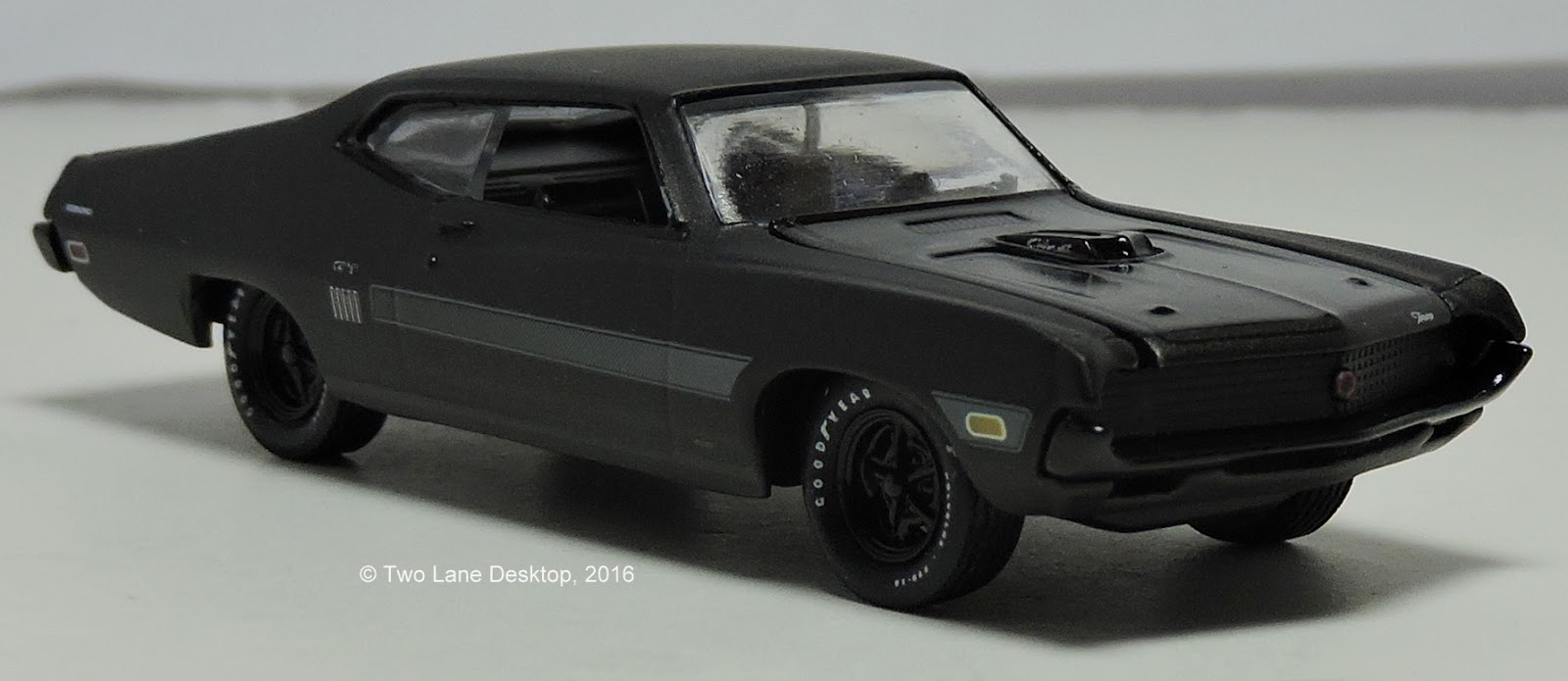 two lane desktop hot wheels 1976 ford gran torino and m2 machines 1970 ford torino gt. Black Bedroom Furniture Sets. Home Design Ideas