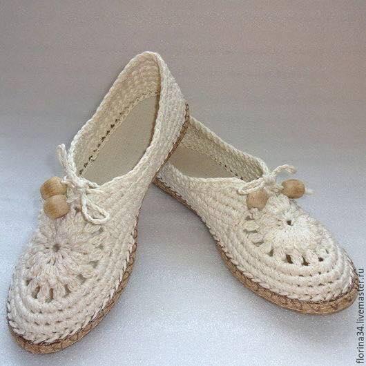 wzory botów szydełkowych