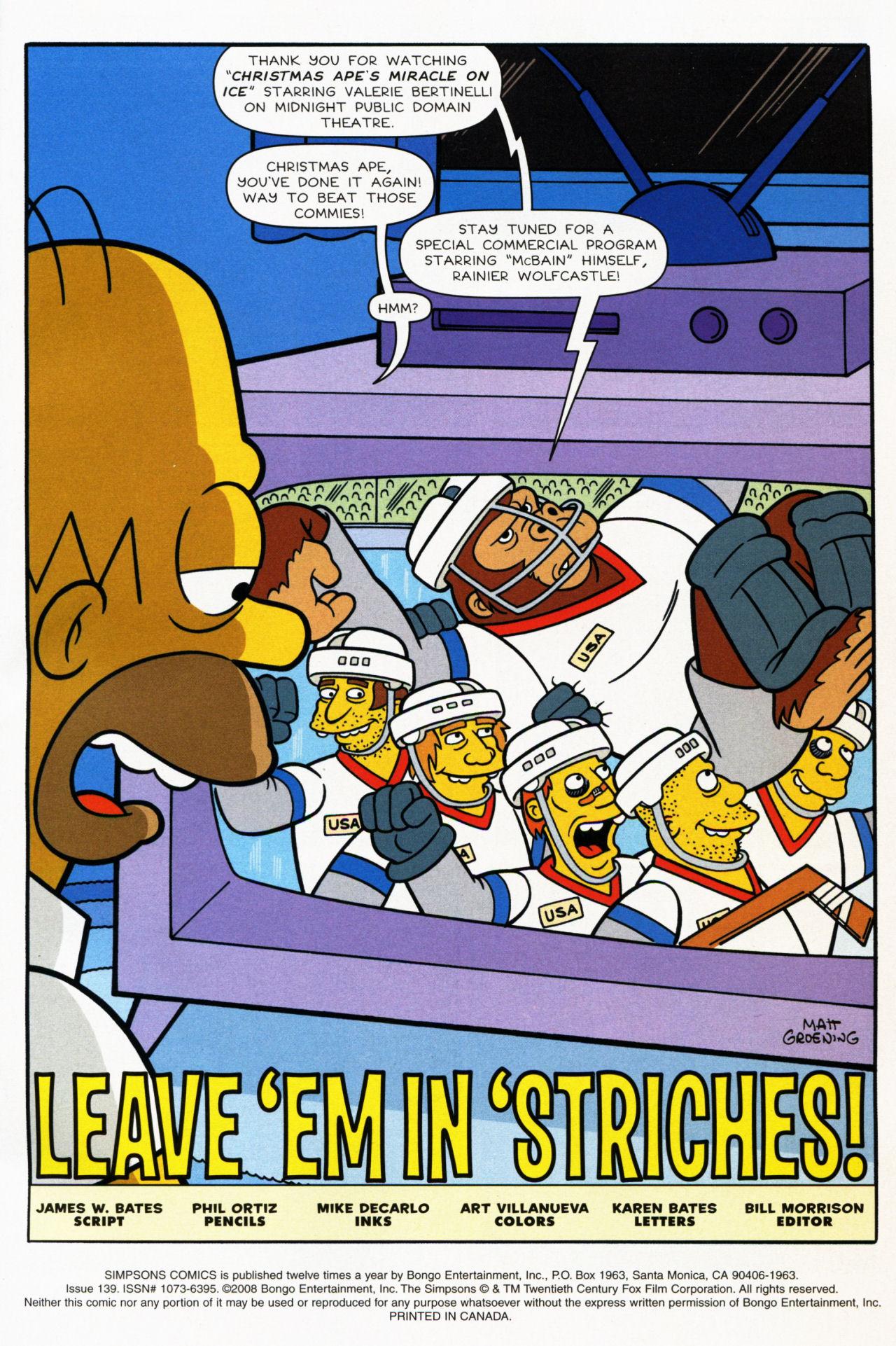 Read online Simpsons Comics comic -  Issue #139 - 2