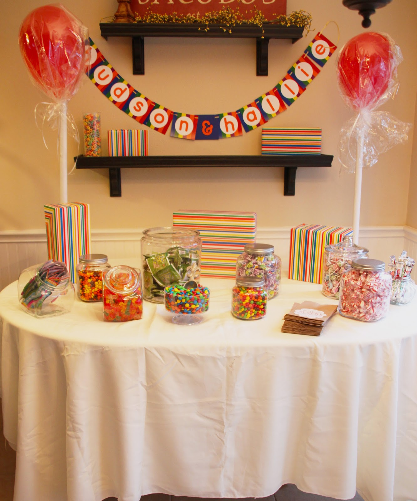 That Village House: Candyland Theme Birthday Party