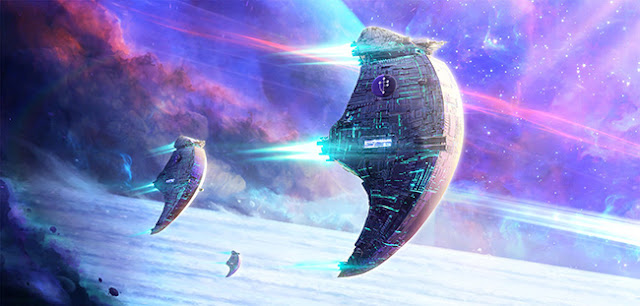 Spaceship Wallpaper Engine