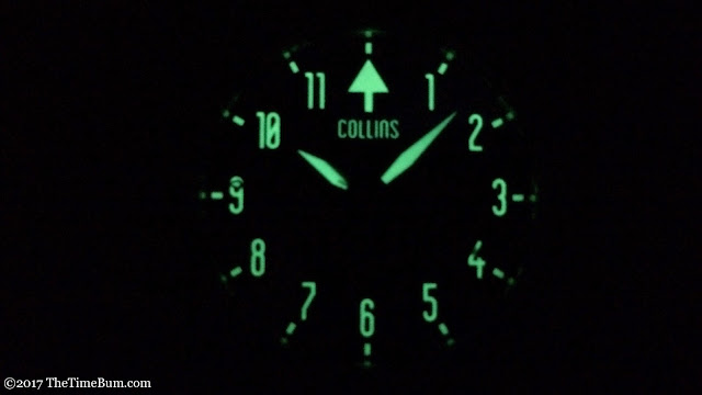 Collins Watch The Bronson lume