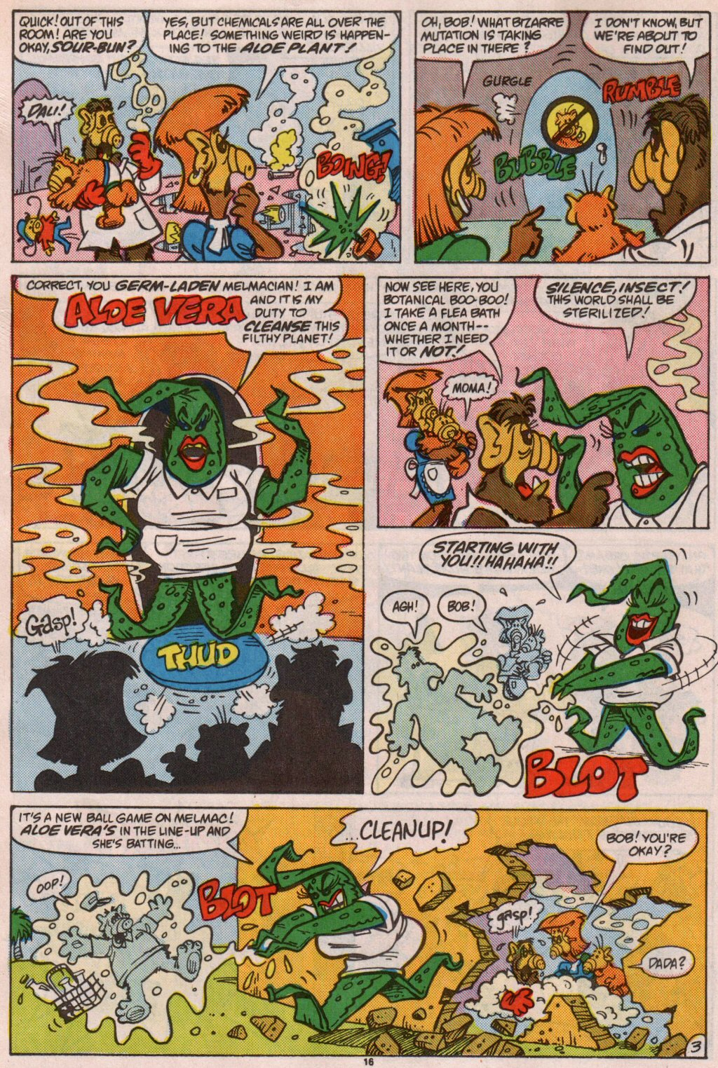 Read online ALF comic -  Issue #7 - 13
