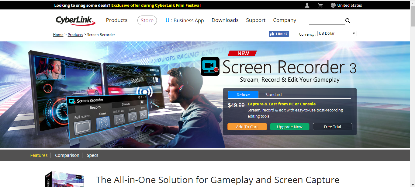Download CyberLink Screen Recorder 3 [for PC] (Full Giveaway